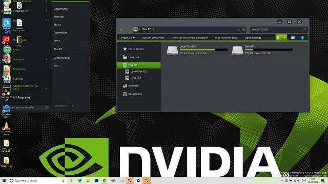 Bảng điều khiển Nvidia