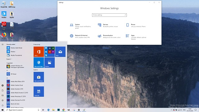 Chủ đề Windows 10 National Parks