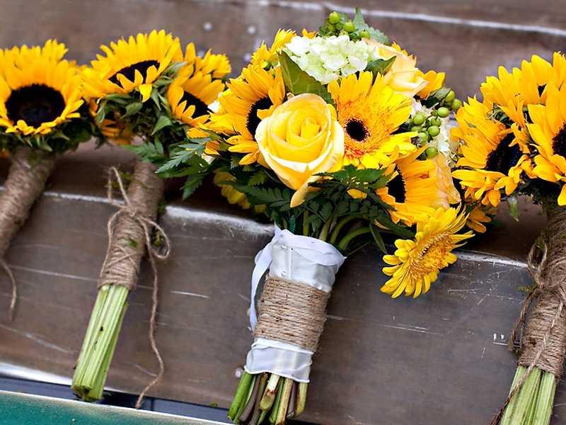 """Hoa hướng dương gửi gắm thông điệp ngọt ngào """"trọn đời anh chỉ yêu mình em"""""""