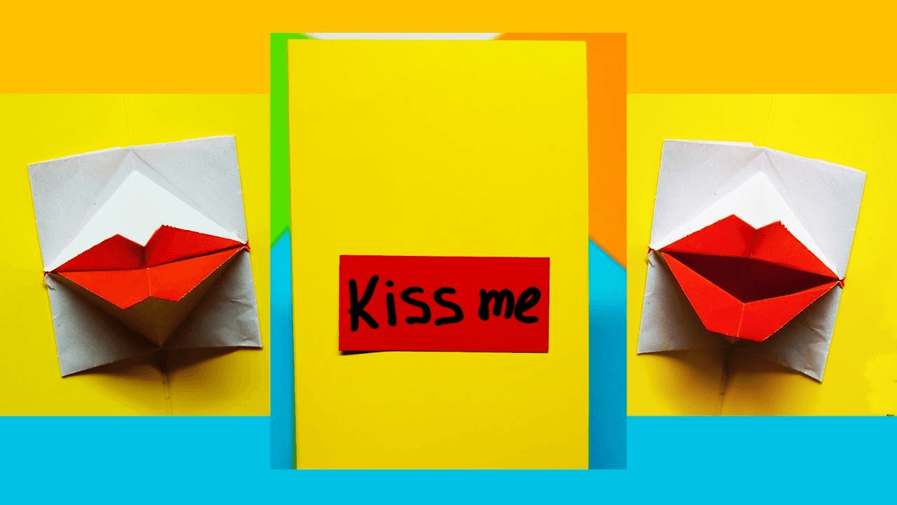 Thiệp Valentine Origami đa dạng nhiều mẫu cho bạn lựa chọn