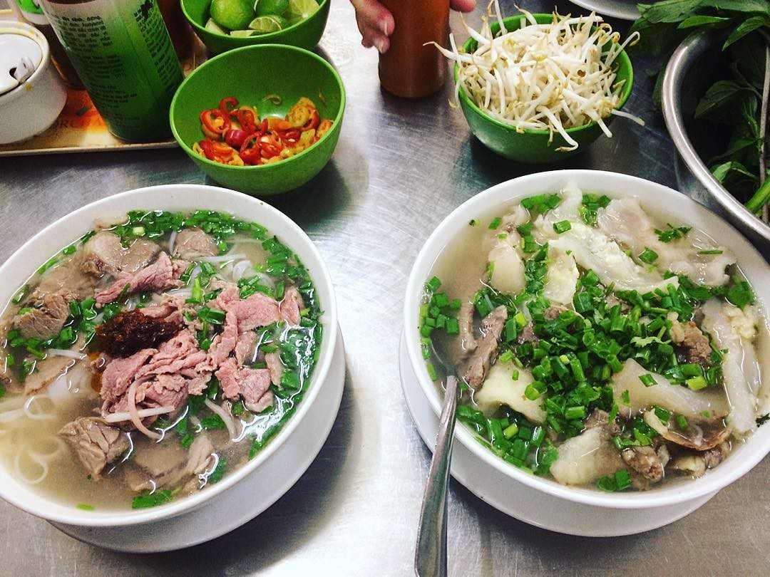 Phở phố cổ mang hương vị đặc trưng của Hà Nội