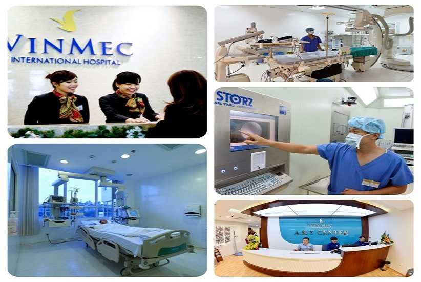 Vinmec Central Park cung cấp dịch vụ y khoa hiện đại và chuyên nghiệp