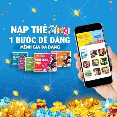 Thẻ game Zing được phổ biến trên thị trường