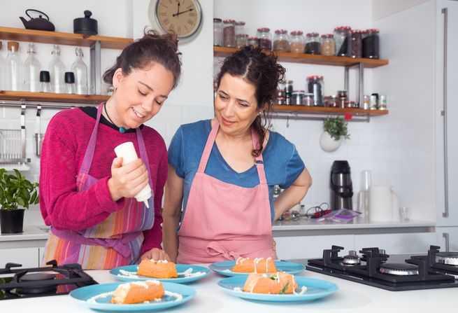 Đăng ký lớp học nấu ăn cùng mẹ