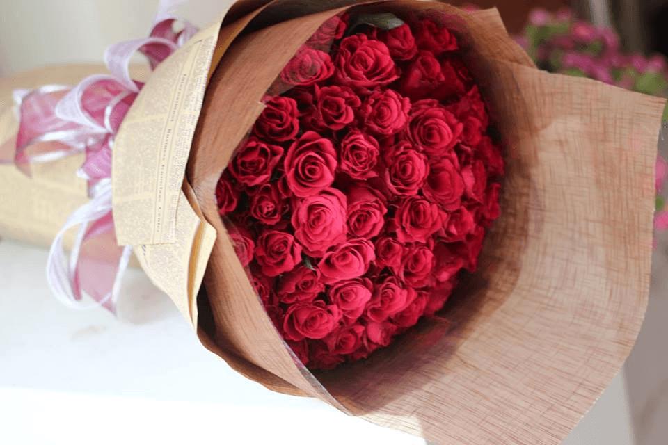 Hoa hồng sẽ giúp xác suất thành công của lời tỏ tình được nâng cao