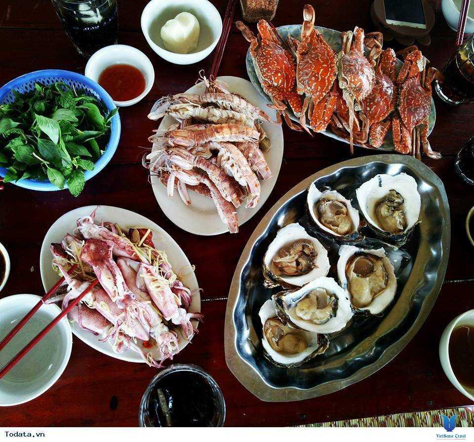 Món ngon tại nhà hàng Hải Đăng Vương