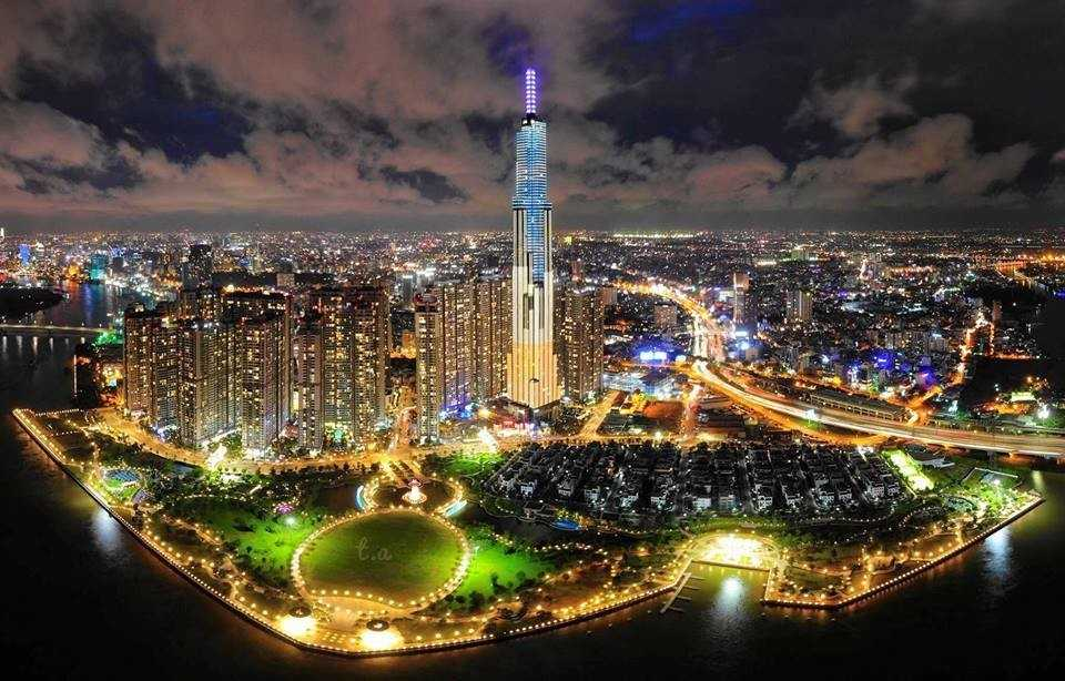 Tòa Landmark 81 tại Hồ Chí Minh