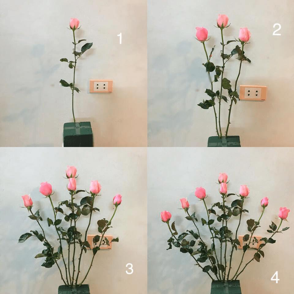 Cắm hoa tối giản nhưng vẫn đẹp và ý nghĩa
