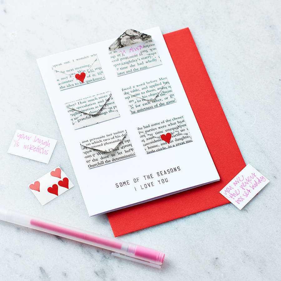 Card Note tình yêu ngày valentine 14 2