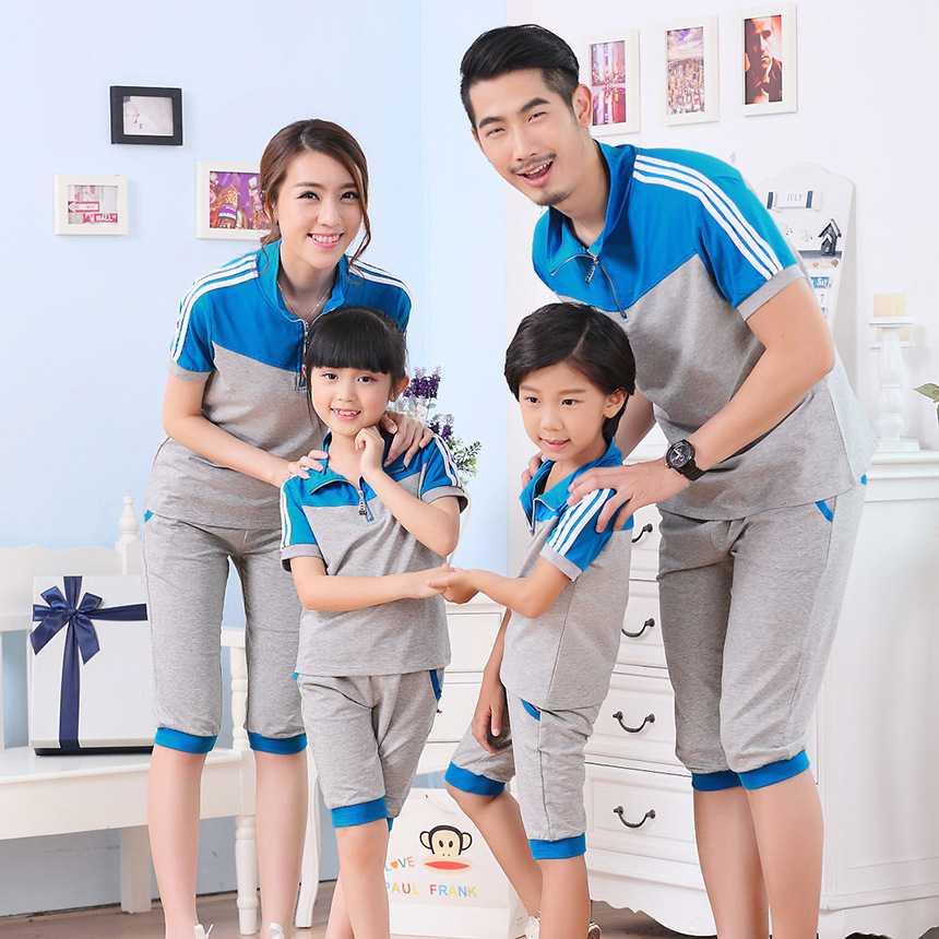 Đồng phục gia đình dễ thương, gắn kết mọi thành viên với nhau