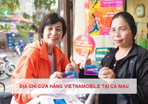 Cửa hàng Vietnamobile Cà Mau